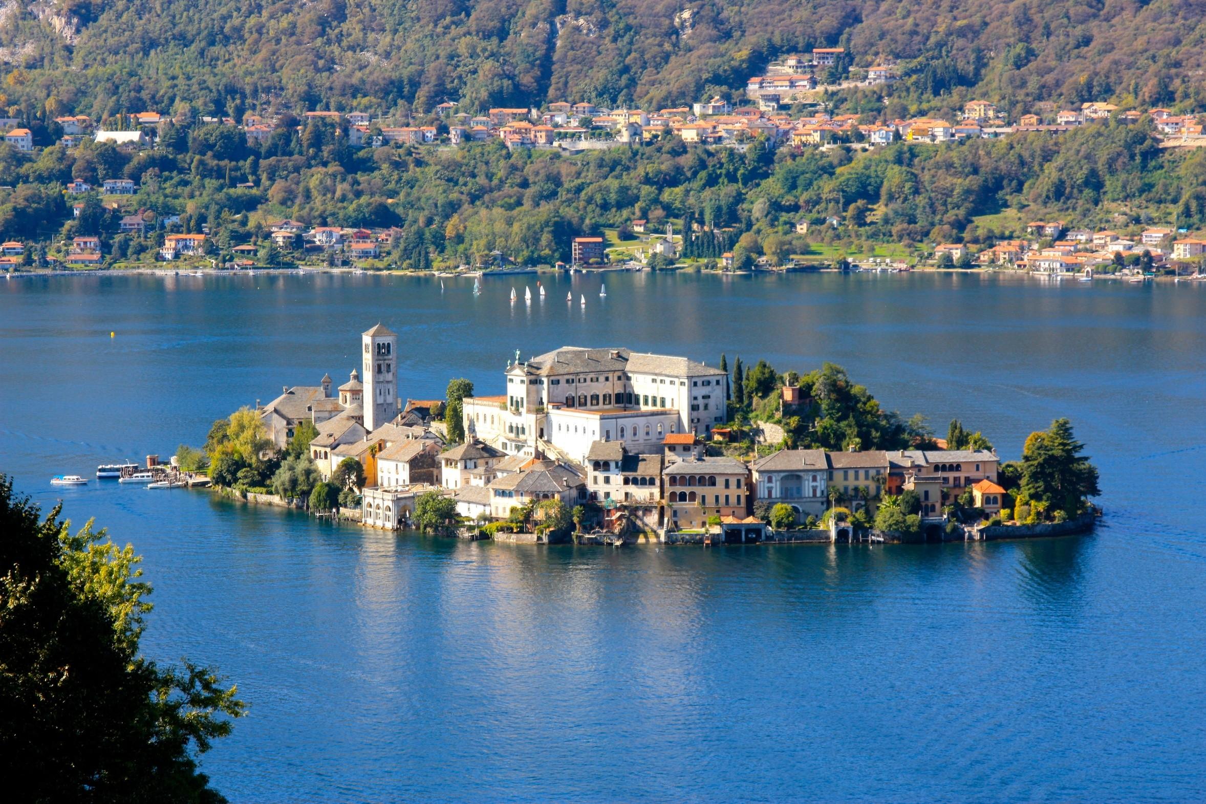 région lacs italiens