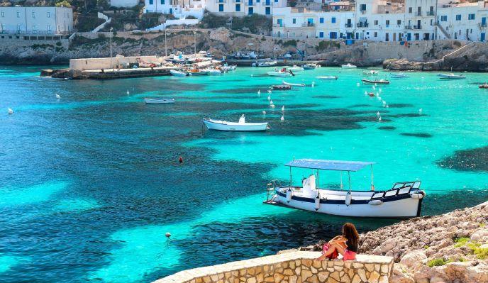 La Sicile: Palerme et le paradis des Iles Egades