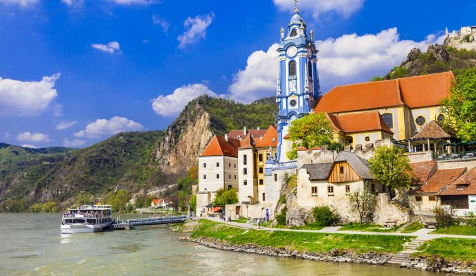 Le long du Danube Autrichien