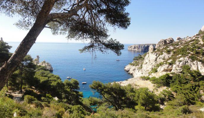 Les parcs nationaux méditerranéens : les calanques de Cassis et l'île de Port Cros