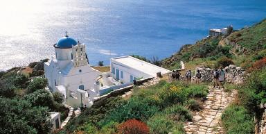 Serifos et Sifnos, îles des Cyclades