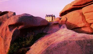 05- Pointe du Château - Lannion : côte de Granit Rose