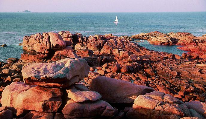 La côte de Granit Rose et l'île de Bréhat