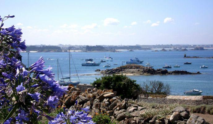 07- Morlaix - Guissény :  côte des Légendes et île de Batz