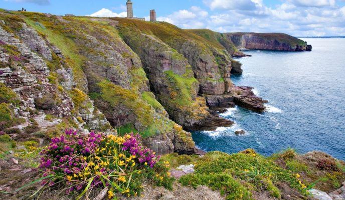 Tour de Bretagne n°2 - Randonnée de Saint-Malo à Saint-Brieuc :  côte d'Emeraude et cap Fréhel