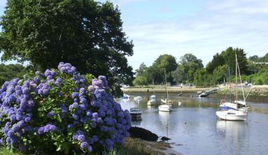 La côte Sud Bretagne, Cornouaille et Pays Bigouden : Auray - Quimper à vélo