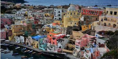 Nouvel an à Naples - La baie de Naples et ses îles