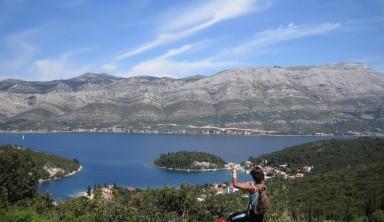 La Croatie en vélo : les îles de Korcula et Mljet
