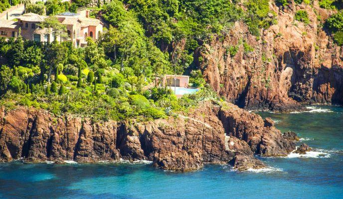 Jardins et villas d'Azur (version hôtel 2* - liberté)