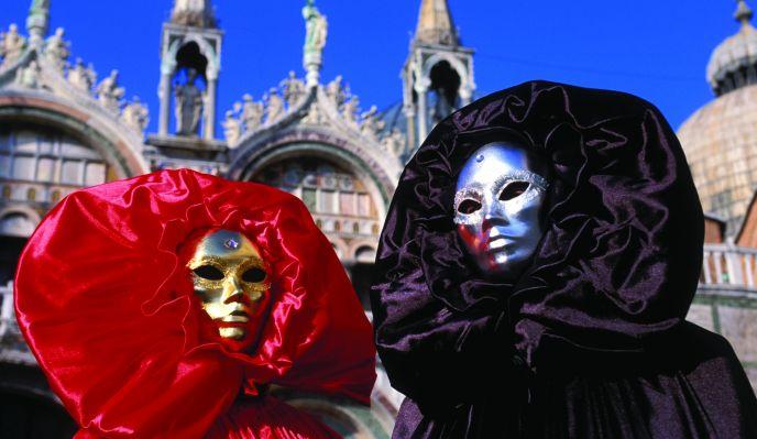 Les îles de Venise et le Carnaval
