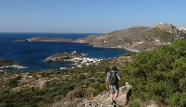 L'île de Cythère, la verdoyante