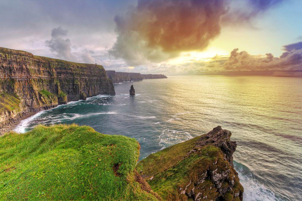 Agence de voyages - séjours et randonnées organisés - Îles et montagnes d' Irlande - Compagnie des Sentiers Maritimes