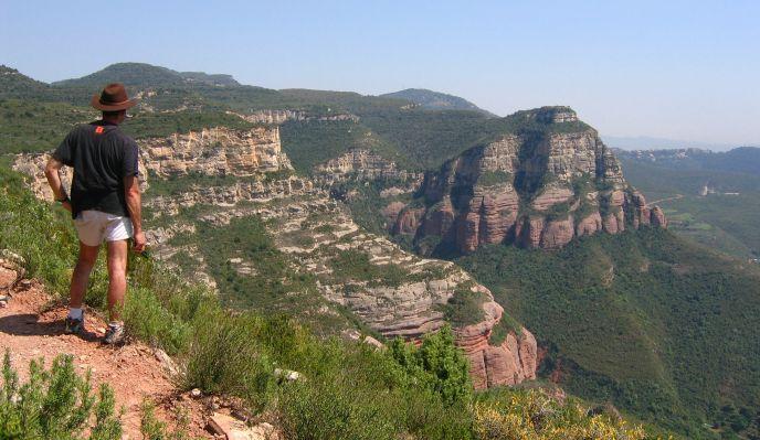 Barcelone et les ermitages de Montserrat