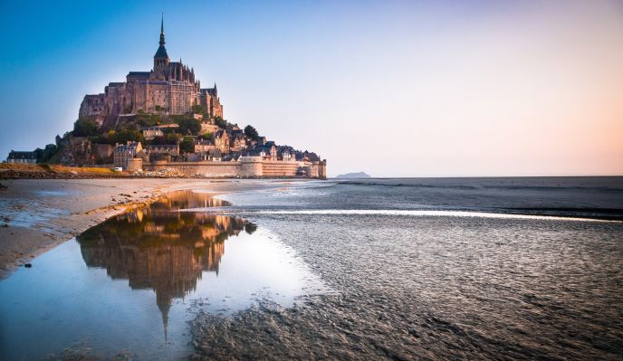 Tour de Bretagne n°1 - randonnée Granville à Saint-Malo : Mont St-Michel et côte d'Emeraude