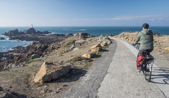 Jersey, Guernesey et Sark à vélo