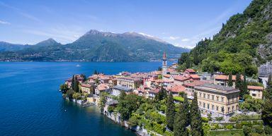 La Lombardie, au bord du lac de Côme