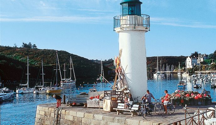 Belle-île-en-Mer à pied et à vélo