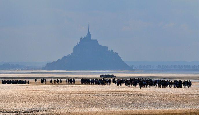 Nouvel An - La baie du Mont Saint-Michel