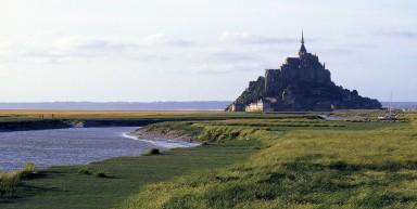 La baie du Mont Saint-Michel à vélo