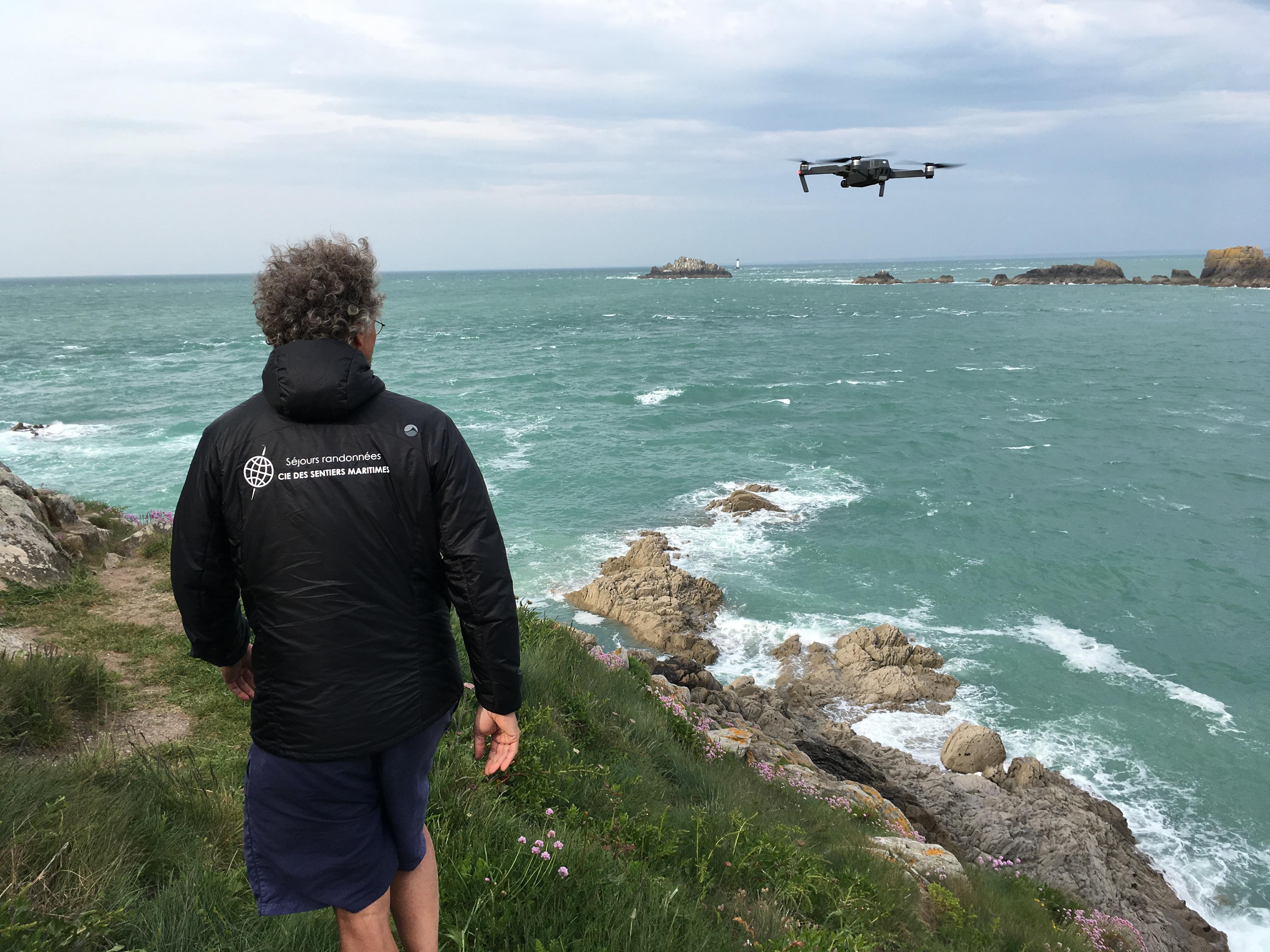 Images au drone